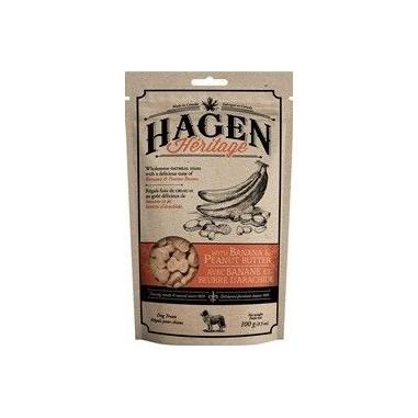 Hagen Heritage, Galletas sabor a Plátano y Mantequilla de maní 100 gr